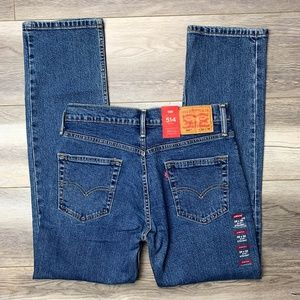 LEVI's Strauss 514 Straight Fit Jeans 29/30 NEW